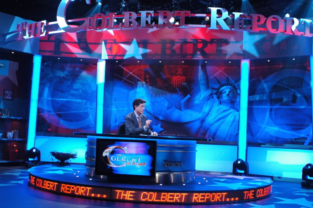 Comedy Central's THE COLBERT REPORT debuts Monday, October 17 at 11:30 p.m. ET/PT. Photo by Joel Jefferies ©2005 COMEDY CENTRAL